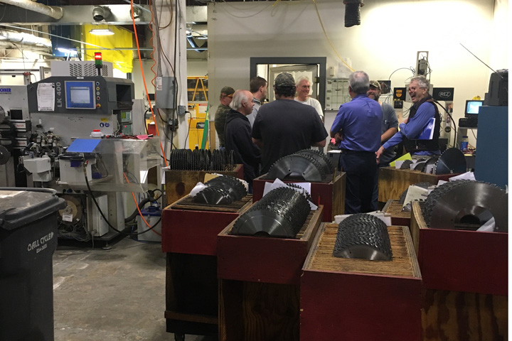 Super Thin Saws trains next generation of salespeople